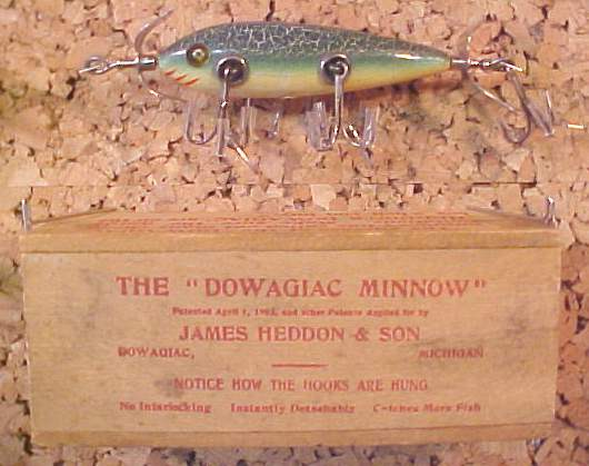 antique fishing lures - major lure companies - old lures and reels, Fishing Bait
